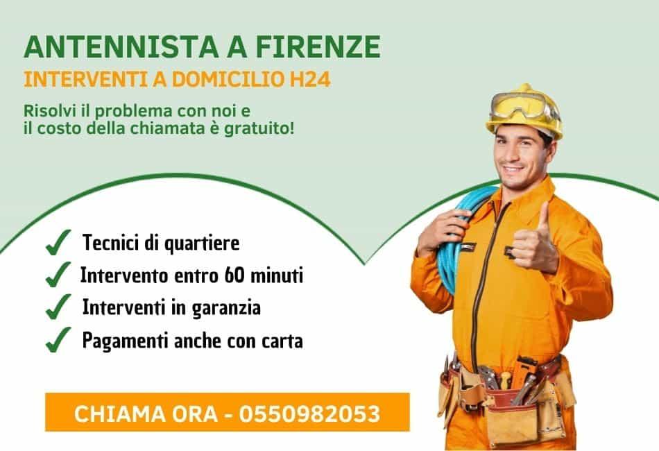 Antennista Firenze - Pronto Intervento